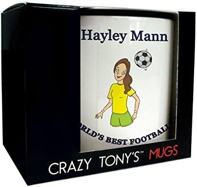 Ideas de regalo mujer de balón de fútbol, hembra de futbolista ...