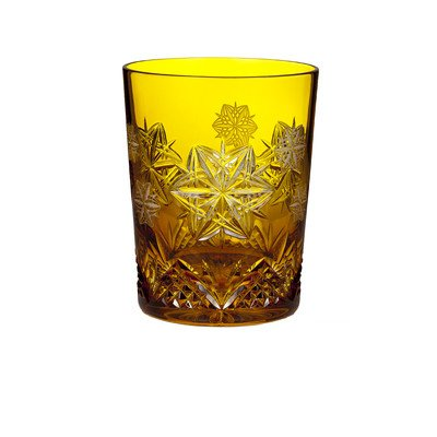 Waterford Snowflake Wishes 2014 Wishes For Peace Mooncoin Amber Prestige Double Old Fashioned