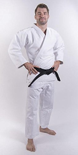adidas Judo Traje Millenium GI Blanco, Weiss: Amazon.es ...