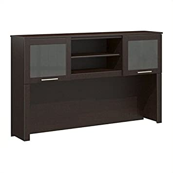 Bush Somerset 60W Hutch in Mocha Cherry