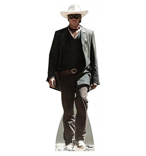 [The Lone Ranger - Disney's The Lone Ranger - Advanced Graphics Life Size Cardboard Standup] (Traveling Circus Costume)