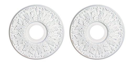 Angelo Brothers Ceiling Fan Light Medallion (2) - Light Fixture Medallions