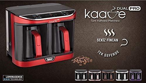 Fakir KAAVE Dual Pro Machine à moka, Anthracite