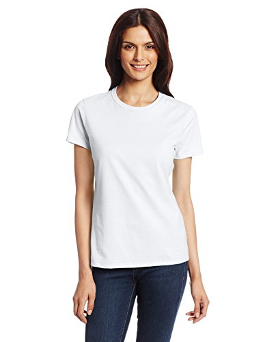 Crew Womens Shirt (Hanes Women's Nano T-Shirt, Medium, White)