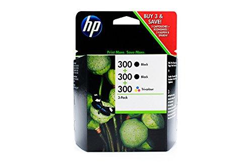 Original HP SD518AE   300 Spar Set (2 x schwarz 1 x Farbe) für HP DeskJet F 2410