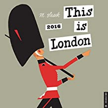 This is London 2016 Wall Calendar