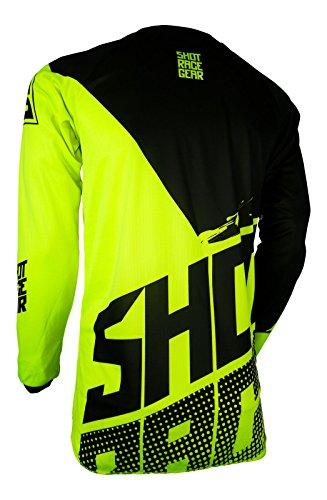 Shot Race Gear Youth Devo Kid Venom Neon Yellow Jersey/Pant Combo - Size Y-XLARGE/24W by Shot Race Gear (Image #2)