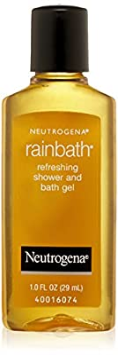Neutrogena Rainbath Refreshing Shower and Bath Gel Travel Size, 1 Ounce (Pack of 48)