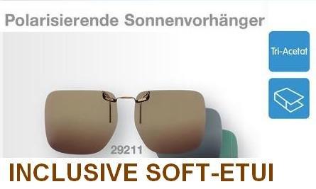 nbsp; Clip Clip transmisión de nbsp;Gafas sol 29213 UV 15 Eschenbach 400 Verde Gafas q1YX7zw