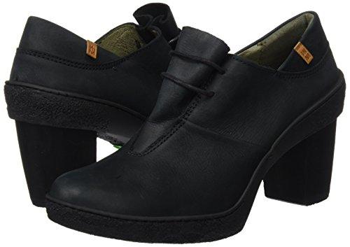 Negro Zapatos Mujer Black El Para Punta Naturalista Tacón Pleasant De black Con Cerrada Nf70 Lichen nn7fPIqC