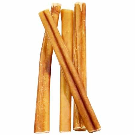 Image of Barkworthies Butcher'S Cut Sw Select Natural Odor Free Bully Stick Treat, 12-Inch