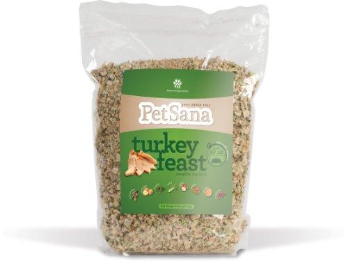 PetSana Grain Free Dehydrated Turkey Feast Dog Food, My Pet Supplies