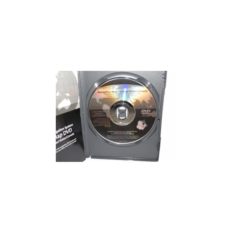 2010 Release Gm GPS Navigation Disc P/n 20855830 Updates Only Models and Model Years in Title for 2003 2004 2005 2006 Tahoe,suburban,yukon, Escalade,also 2004 2009 Trailblazer,envoy