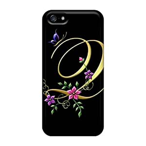 Hot Covers Cases For Iphone/ 5/5s Cases Covers Skin - My Creation Letter Q