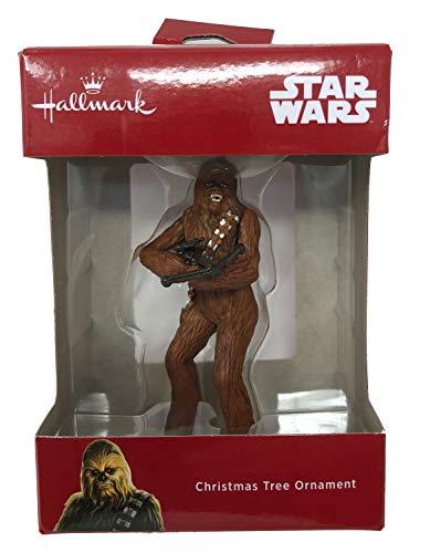 Star Wars 2018 Hallmark Disney Chewbacca Christmas Tree Ornament -