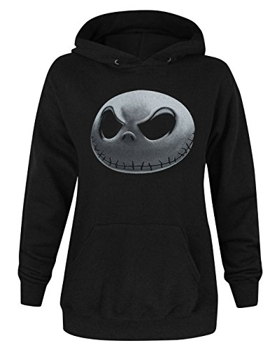 Official Nightmare Before Christmas Jack Skellington Women's Hoodie -