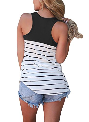 FARYSAYS-Womens-Casual-Color-Block-Striped-Racerback-Cami-Tank-Tops