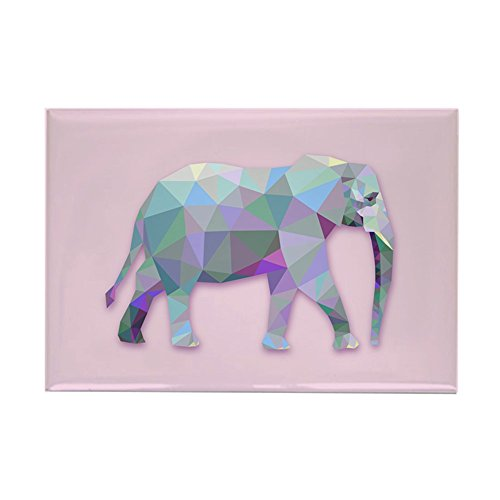Street Rectangle Magnet - Rectangle Magnet Triangle Elephant