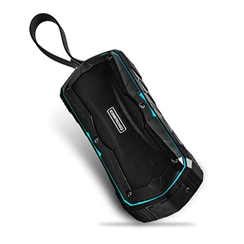 (ICONNTECHS IT Portable Bluetooth Speaker with 33-feet Wireless Range, IPX6 Water Resistant, Built-In Mic Handsfree Speakerphone Wireless Speaker)