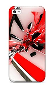 TATIANAE STEVENS's Shop New Style Protection Case For Iphone 5c / Case Cover For Iphone(red Hot) 7956352K93695770