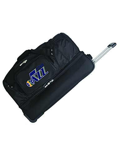 NBA Utah Jazz Rolling Drop-Bottom Duffel by Denco