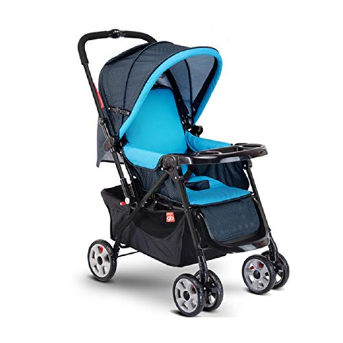HRD Baby Stroller, Light/Foldable/Shockproof Pushchair, City/Travel Compact Buggy, Suitable for 0-3 Years Old
