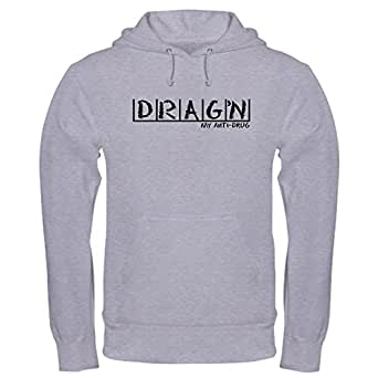CafePress - Drag'n Anti-Drug Hooded Sweatshirt - Pullover Hoodie, Classic & Comfortable Hooded Sweatshirt