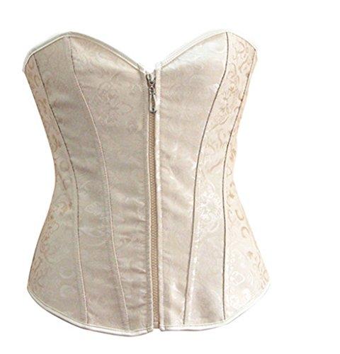 VLUNT - Conjunto de lencería - para mujer Beige