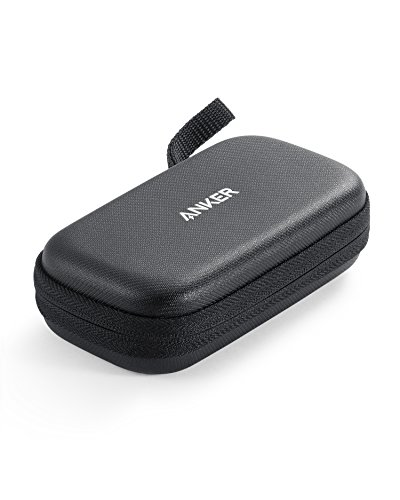 Official Anker Hard Case for Anker PowerCore 10000, PU Leather Premium Protection Travel Case for Portable Chargers, Water Resistant Exterior and Drop-Proof Carrying Case for Power ()