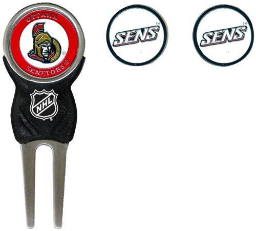 UPC 637556149459, NHL Ottawa Senators 3 Marker Sign Divot Pack