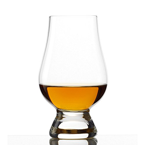 Wine Enthusiast Glencairn Whisky Glasses,Set of 4, Clear by Wine Enthusiast