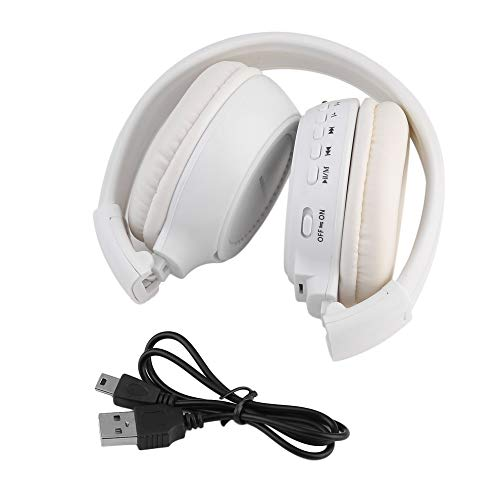 Wireless Bluetooth Headset, 4.1 Wireless Over-Ear Headphone Stereo Music Headset Voice Control Earphone for Phone Tablet -