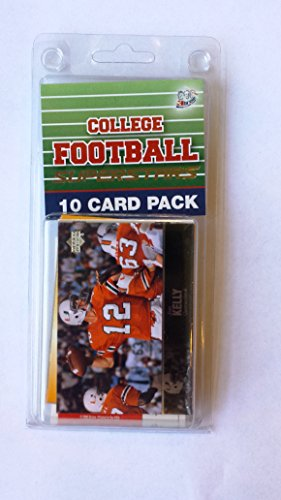 10 card pack college football miami hurricanes superstar starter - Miami Store Michael