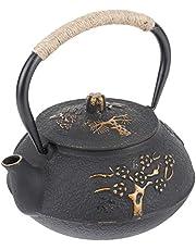 Kadimendium Żelazny dzbanek do herbaty, żeliwny dzbanek do herbaty, elegancki dom na kuchenkę