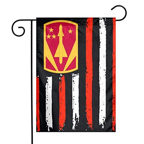 HU7 JDOS7 American Flag 31st Air Defense Artillery Brigade Garden Flag House Banner for Party Yard Home Outdoor Decor