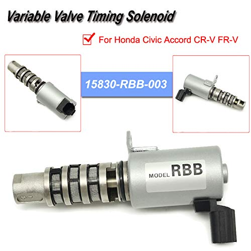 Oil Variable Valve Timing Solenoid VTC Oil Control Valve Engine Intake VVT Solenoid 15830-RBB-003 For Honda Civic Accord CR-V FR-V