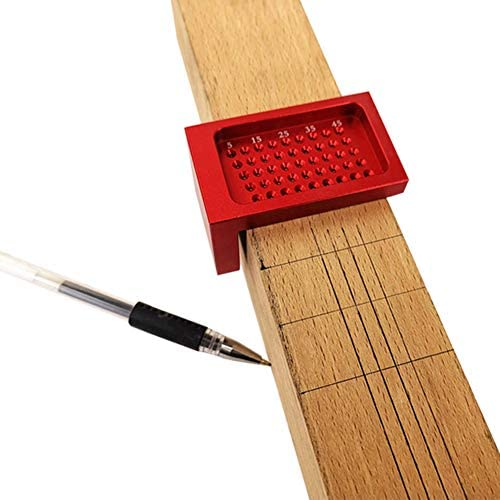 T-Type Square Ruler Aluminium Pointe à tracer de mesure menuiserie marquage bois