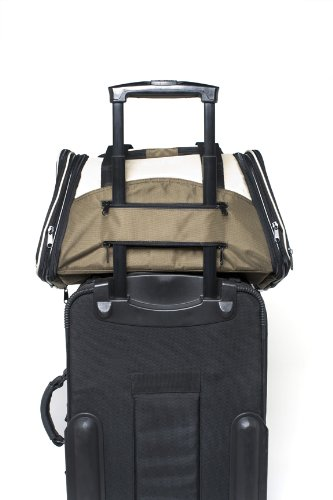 One for Pets The One Bag Expandable Pet Carrier, Large, Navy - Car & Luggage Fixture Included by One for Pets (Image #3)