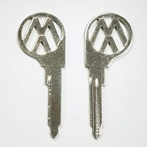 Pirate Mfg (2) Key Blanks, Profile L, Classic Air-Cooled Bus 1967-1970 ()