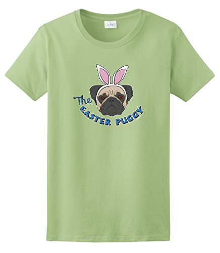 Easter Gifts Puggy Ladies T Shirt