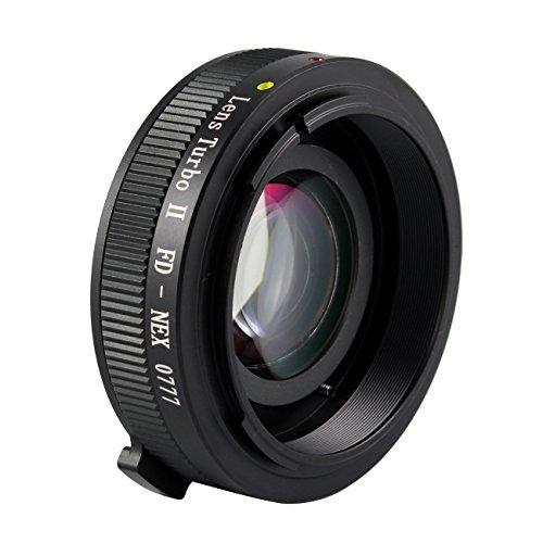 Zhongyi Mitakon Turbo II Focal Reducer Booster Adapter Canon FD Lens to Sony E NEX 7 6 5N - Lens Turbo