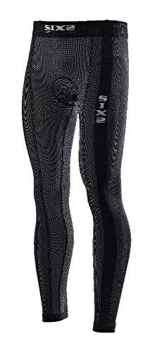 SIXS Men's (600-0084) Underwear Leggings with Butt-Patch (Black Carbon, Large)