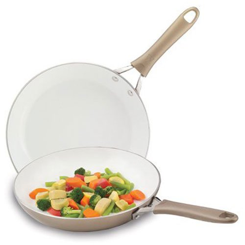 8 inch fry pan with lid - 6
