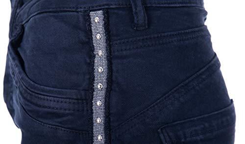 Marine Pantalón Basic Mujer de Para IxxgwUqH