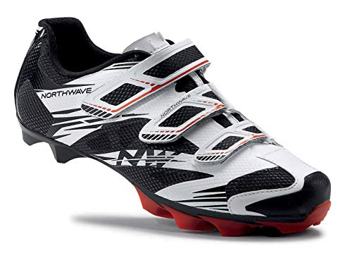 Northwave White-Black-Red 2017 Scorpius 2 Mtb Shoe (Us 11 , White) from Northwave