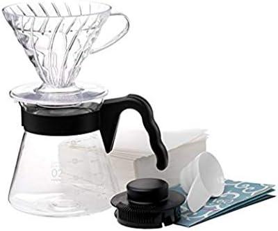 Hario - V60 - Set para preparar café de filtro: Amazon.es: Hogar