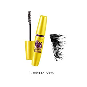 7d273b481fd Maybelline The Magnum Volum' Express Waterproof Mascara Black 9.2ml:  Amazon.co.uk: Beauty