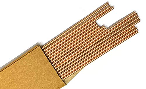 Copper Brazing Rod [BCup2-0% Silver] Dia 2.4mm (10 pieces) Price & Reviews