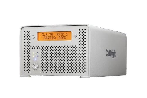CalDigit VR2 - Dual HDD Hardware RAID - eSATA, USB 3.0/2.0, FireWire 800 & 400 (8TB) -