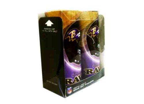 NFL Baltimore Ravens Refillable Salt and Pepper Shaker